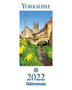Yorkshire Slim Calendar 2022 - OUT NOW